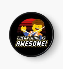 Everything is awesome! Clock