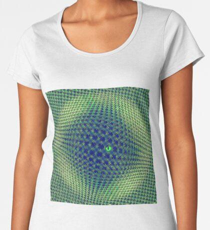 Hiding in the sphere Premium Scoop T-Shirt