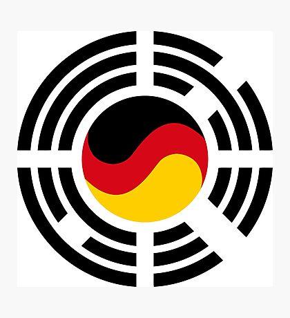 Korean German Multinational Patriot Flag Series Photographic Print