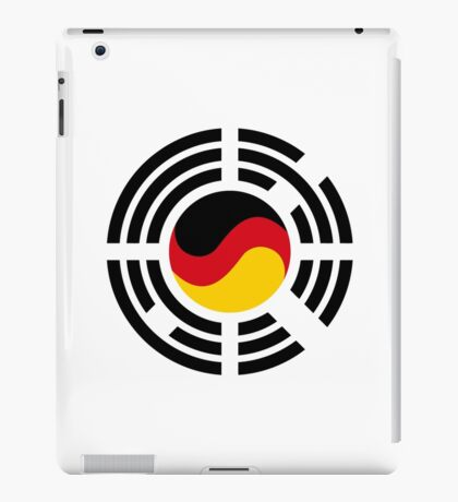 Korean German Multinational Patriot Flag Series iPad Case/Skin