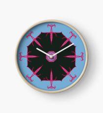 Eight Daggers Darkly Clock