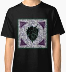 Green and Purple Pulse Classic T-Shirt