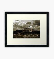 Craig's Hut, Mt Sterling Framed Print