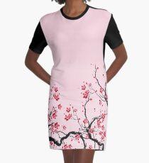 Kirschblüte T-Shirt Kleid