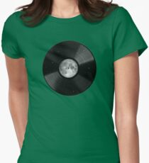 Moon song Womens Fitted T-Shirt