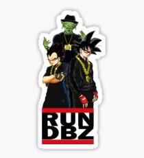 RUN DBZ Sticker