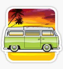 Sunset Camper Sticker