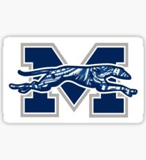 Moravian College Paisley Sticker
