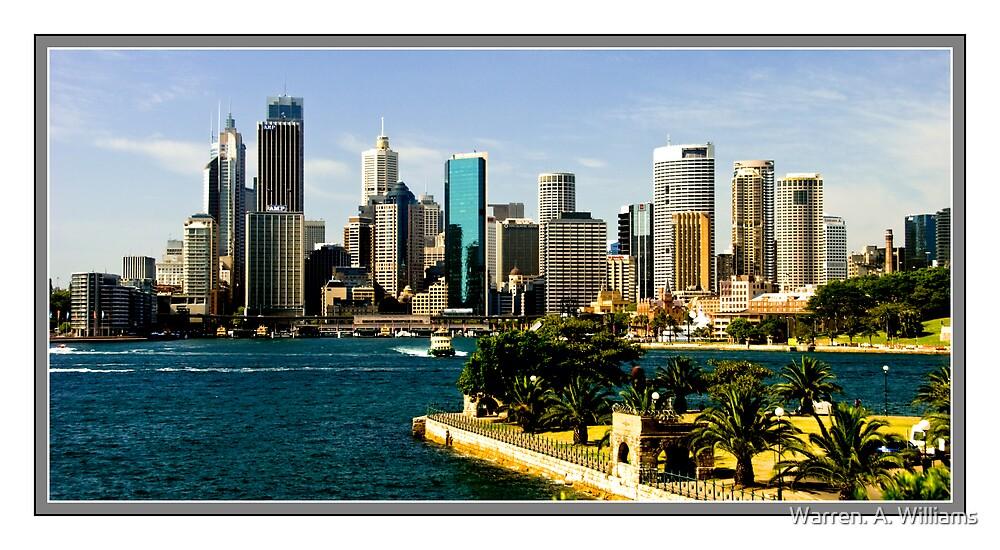 Cityscape  Sydney by Warren. A. Williams