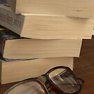 Books and Glasses  by Stephen Thomas