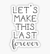 Blink- 182 Quote Sticker