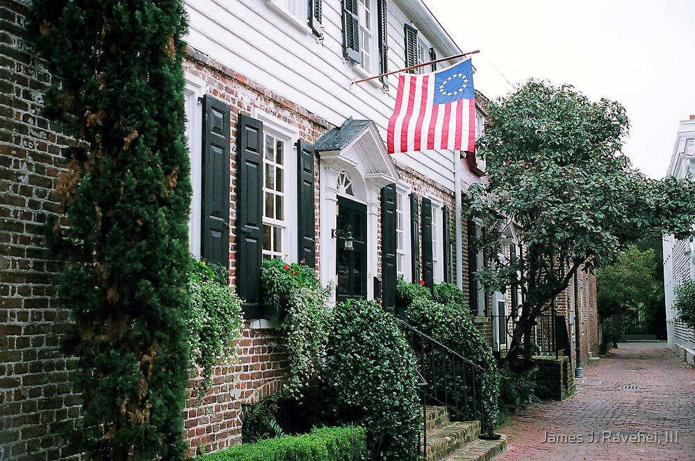 Colonial, Stolls Alley-2 by James J. Ravenel, III