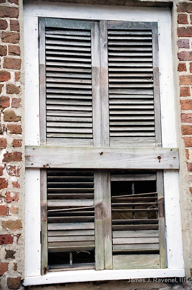 Old Window by James J. Ravenel, III
