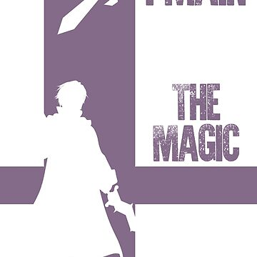 The Magic - Male (White) by sm4shshorts