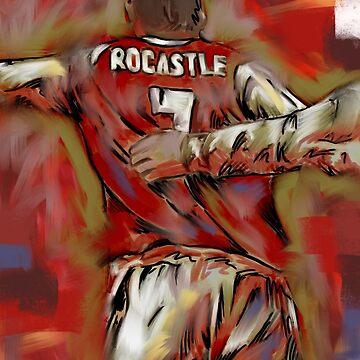 David Rocky Rocastle  by ArsenalArtz