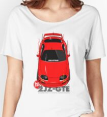 Toyota Supra 90s Attack Women's Relaxed Fit T-Shirt