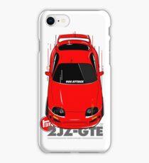 Toyota Supra 90s Attack iPhone Case/Skin