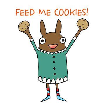 Feed Me Cookies by fishcakes