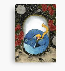 The Little Prince - Blue version Canvas Print