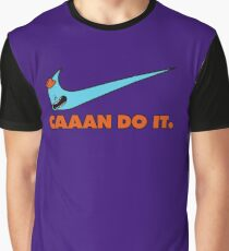 CAAAN DO IT. Rick and Morty Parody Graphic T-Shirt