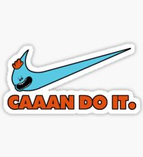 CAAAN DO IT. Rick and Morty Parody Sticker