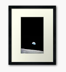 Earth Rise Framed Print