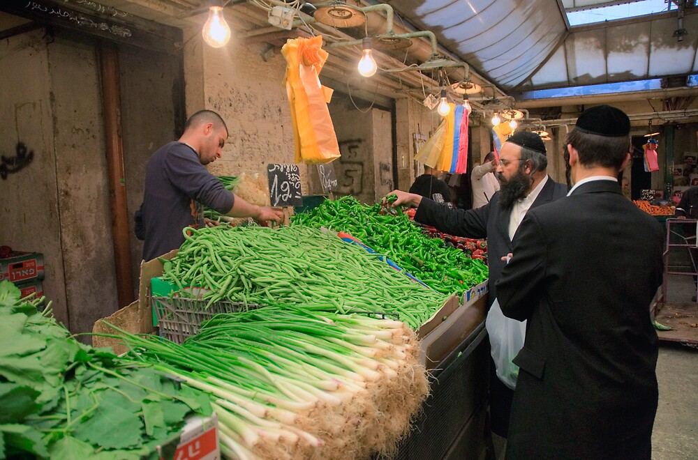 Machaneh Yehuda Market by Eyal Nahmias