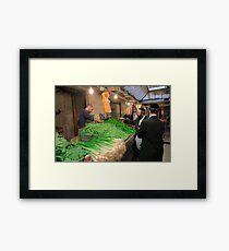 Machaneh Yehuda Market Framed Print