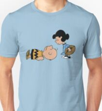 The Peanuts - Charlie Brown and Lucy T-Shirt