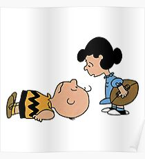 The Peanuts - Charlie Brown and Lucy Poster