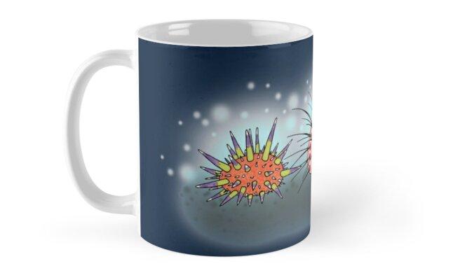 Urchins by Cartoon Neuron