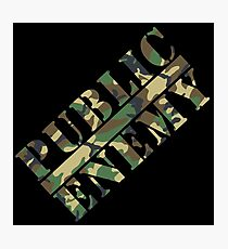 P.E. camouflage 2 Photographic Print
