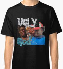 Camiseta clásica Dios feo