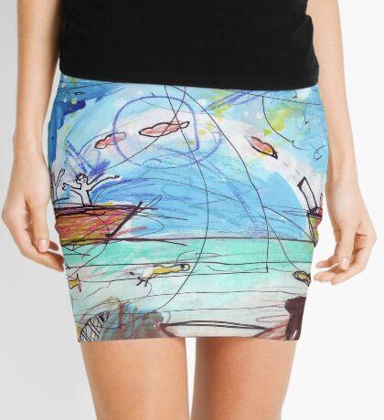 Battle Of The Lip Bombs Mini Skirt