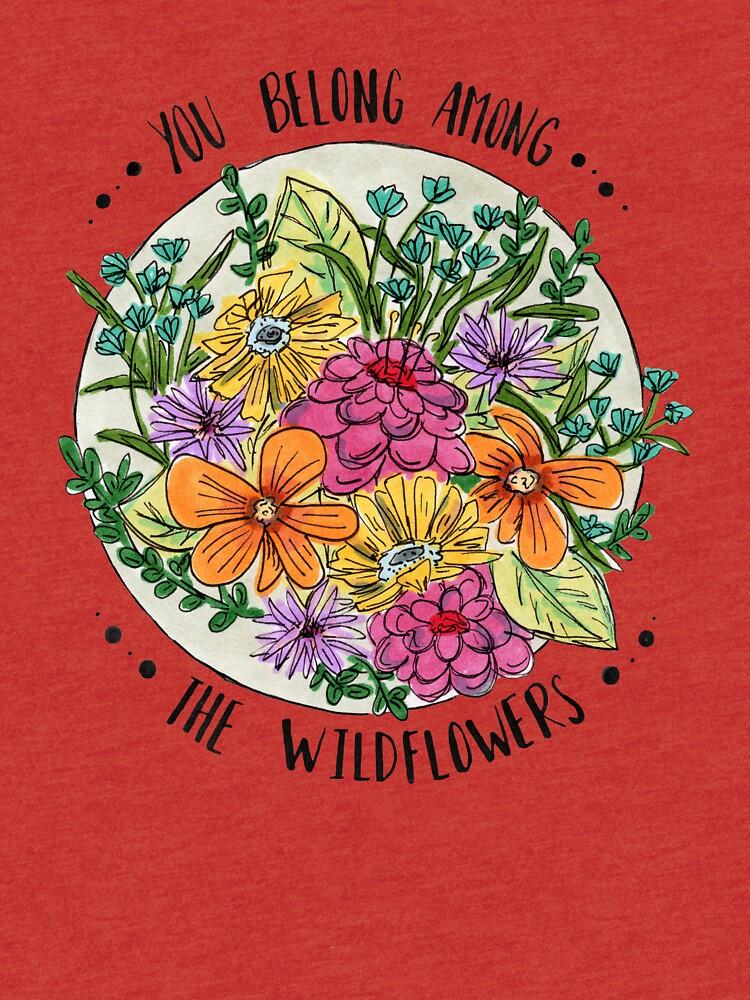Sie gehören zu den Wildblumen von polaskus