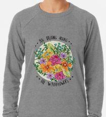 Sie gehören zu den Wildblumen Leichter Pullover