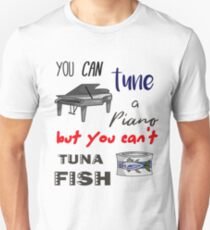 Classic Dad Joke - Tuna Piano Unisex T-Shirt