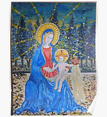 Fra Angelico Study Of Madonna and Child Poster