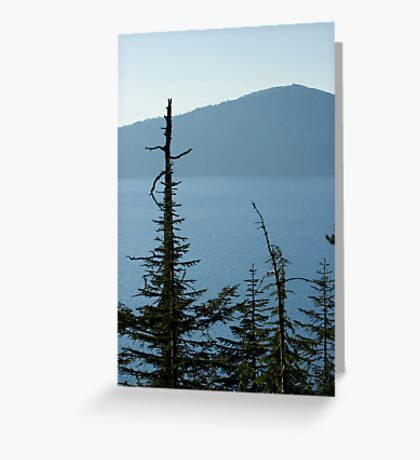 Crater Lake 2 Greeting Card