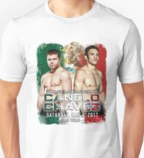 Canelo vs Chavez Jr Official Poster (T-Shirts, Phone Cases and more) Unisex T-Shirt
