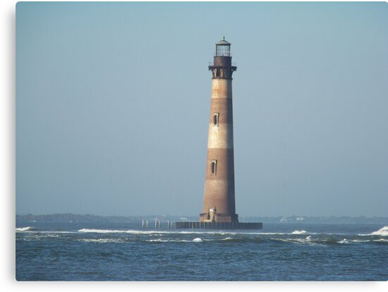 This little Light on Morris Island by Forget-me-not