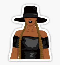 Beyonce Supreme Sticker