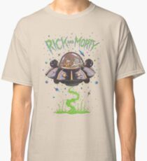 Rick And Morty Spaceship Classic T-Shirt