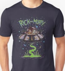 Rick And Morty Spaceship Unisex T-Shirt