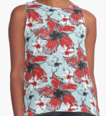 Floral May Contrast Tank