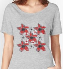 Floral May Women's Relaxed Fit T-Shirt