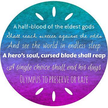 Percy Jackson Prophecy by MewMewMaya