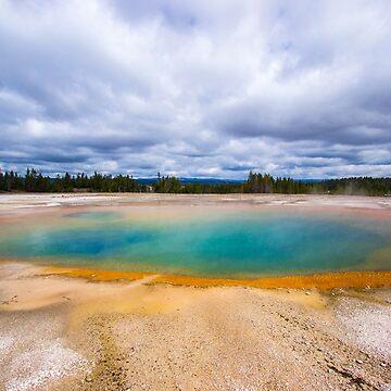 Turquoise Lake - Travel Photography, Amazing, Landscape, Nature by JuliaRokicka