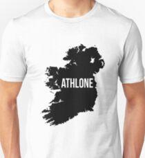 Athlone, Ireland Silhouette Unisex T-Shirt
