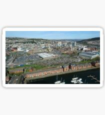 Swansea City Sticker
